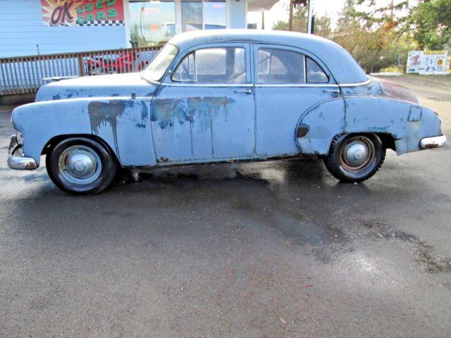 Styleline special runs and lot drives needs restoration for 1949 chevy 4 door sedan