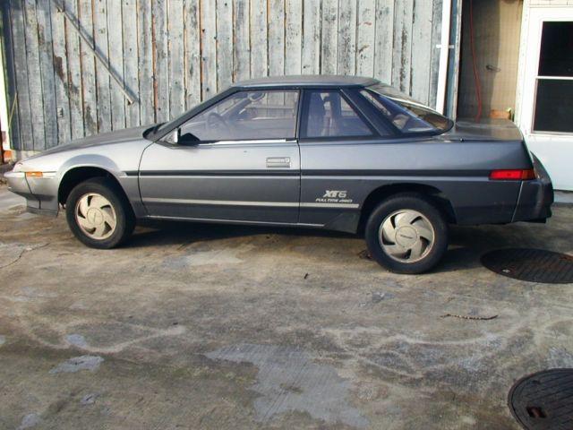 Subaru XT6 1988 AWD with extra parts, Factory Service ...