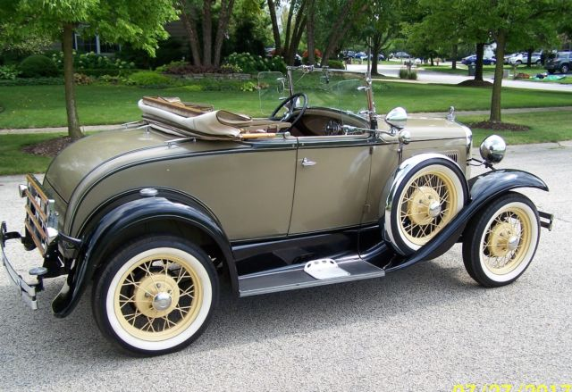 Color Smoke Tires >> Super 1930 Model A Ford Deluxe Sport Roadster
