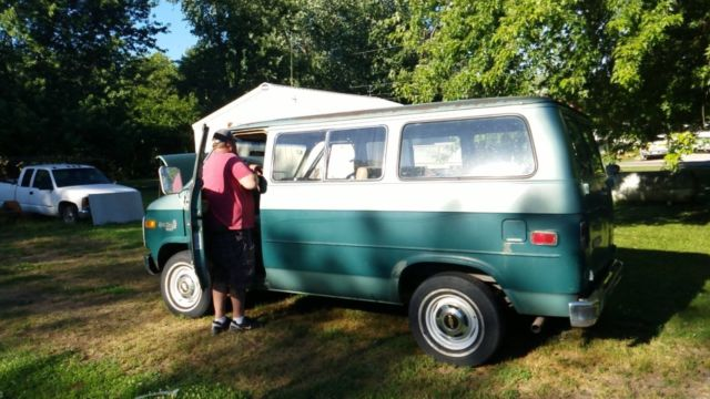 1978 Chevy Shorty Van For Sale