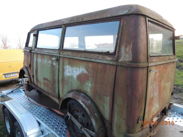 Tempo matador viking mini bus camper van size between VW ...