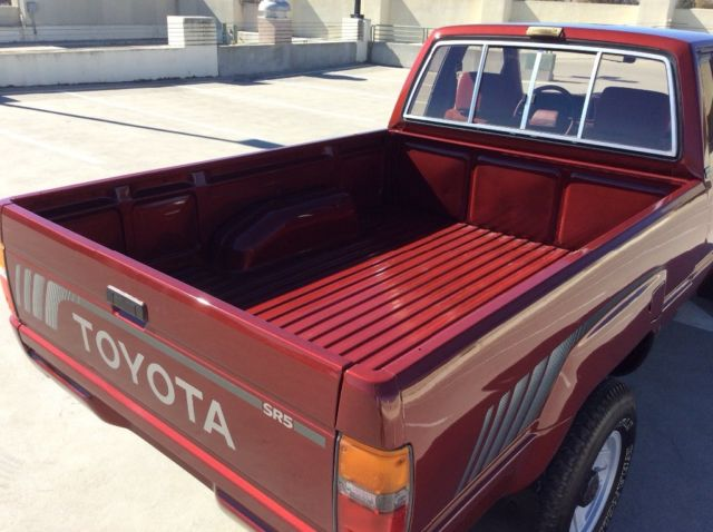 toyota extra cab 4x4 short bed sr5 pickup truck excellent condition 4wd hilux. Black Bedroom Furniture Sets. Home Design Ideas