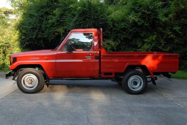 Toyota Land Cruiser Bj75 Pickup Truck Very Low 40960