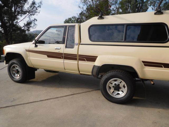 Toyota Pickup 4x4 Extra Sr5 5 Sp 1 Fam Own Orig Paint