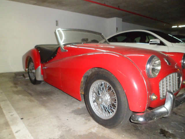 triumph tr3 small mouth 1959 very good car for sale by owner for sale in miami florida. Black Bedroom Furniture Sets. Home Design Ideas