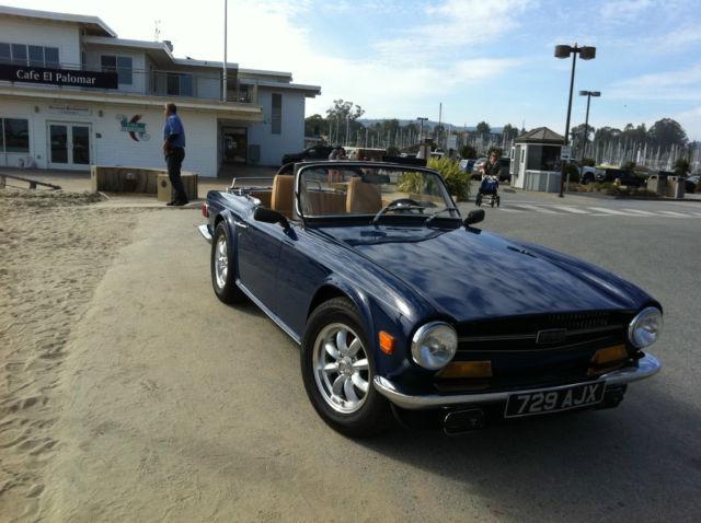 Triumph TR6 1969 with Overdrive for sale in Santa Cruz
