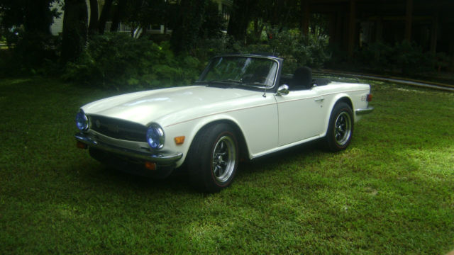 Triumph Tr6 1976 Great Driver Upgraded W 2000 Mustang V6 Fuel