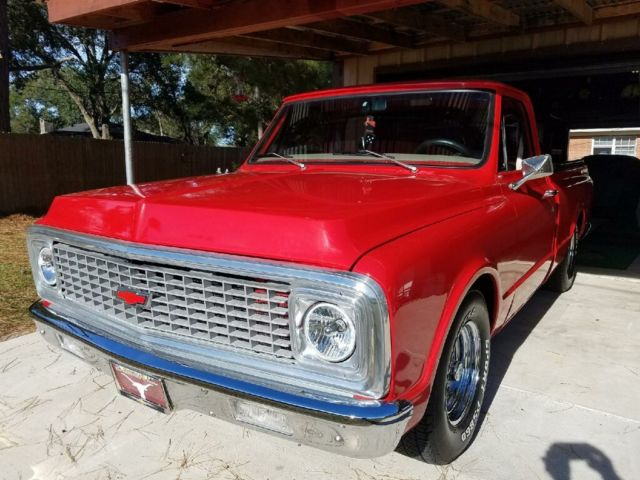 Truck classic 1971 chevy c 10 350 motor 7r transmission for Martin motors beaumont tx