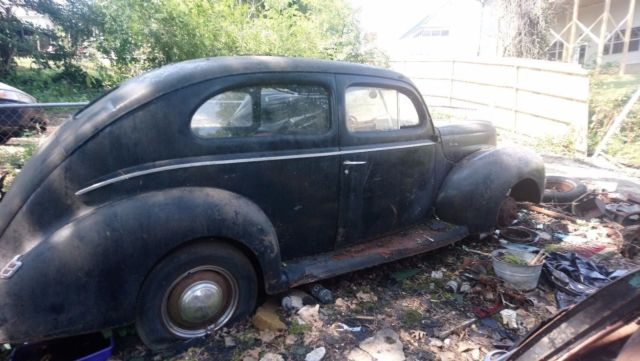 Cars For Sale Chattanooga >> Two 1940 Ford Deluxe 2 door cars plus many parts Awesome Restoration project for sale: photos ...