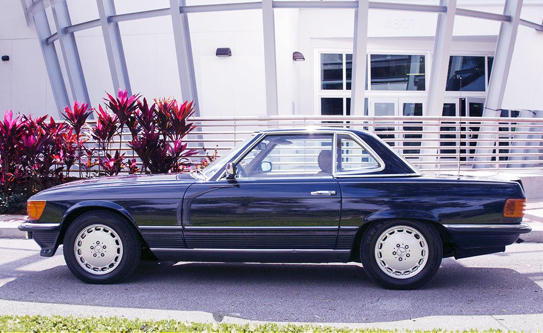 Ultra rare mercedes 1985 500sl european model for sale in for 1985 mercedes benz 500sl
