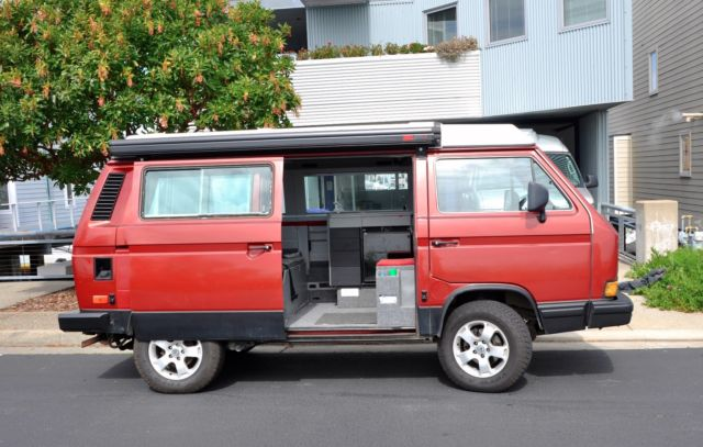 Vanagon Syncro - Rebuilt Engine with Westy Top - Custom