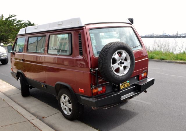 Used Passenger Vans For Sale >> Vanagon Syncro - Rebuilt Engine with Westy Top - Custom Camping Interior for sale: photos ...