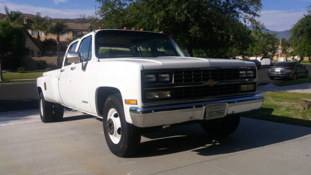 1989 chevy 3500 dually 454 | 1989 Chevrolet Silverado 3500