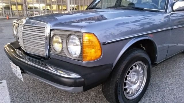 Very dry californian 83 mercedes w123 300 td station wagon for Mercedes benz of long beach service
