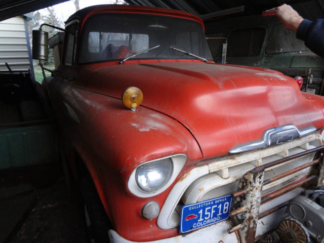 VERY RARE 1957 Factory Napco 4x4 Truck 3100 Shortbed Stepside VIDEO