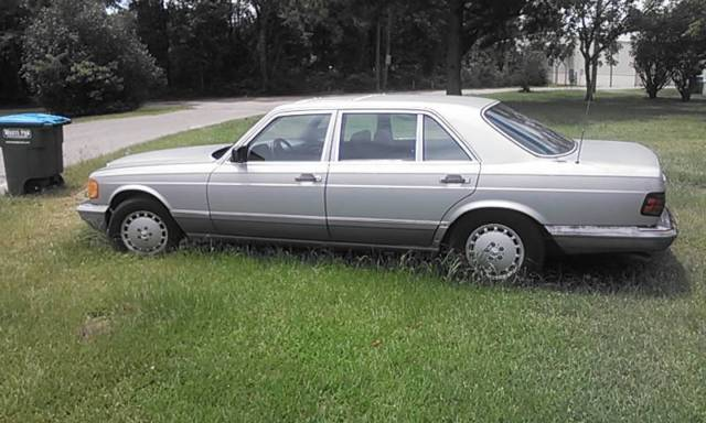 Vintage 1991 mercedes benz 420sel antique collectible for 1991 mercedes benz 420sel