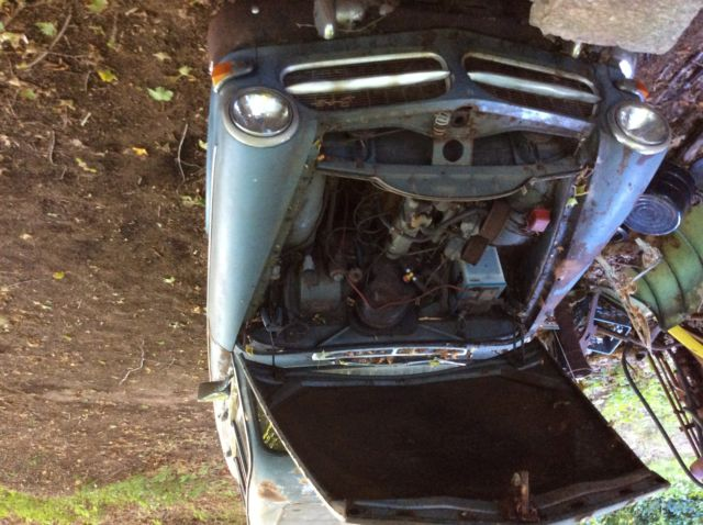 VINTAGE ANTIQUE 1963 122S VOLVO WAGON FOR PARTS OR