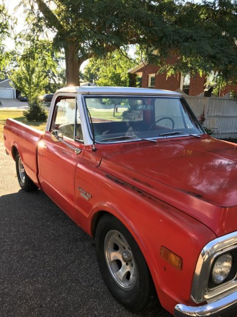 vintage chevrolet c 10 pickup truck 1969 utah chevy automatic. Black Bedroom Furniture Sets. Home Design Ideas