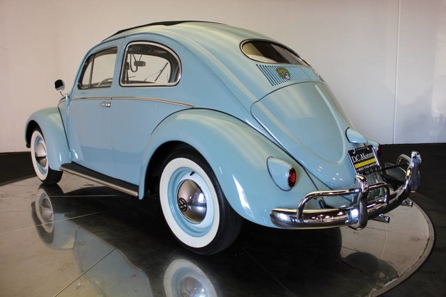 volkswagen beetle baby blue   miles  sale