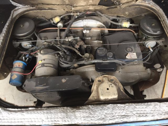 Volkswagen Squareback Rebuilt Motor 500 Miles Ready For Restoration New Parts Vw: vw crate motor