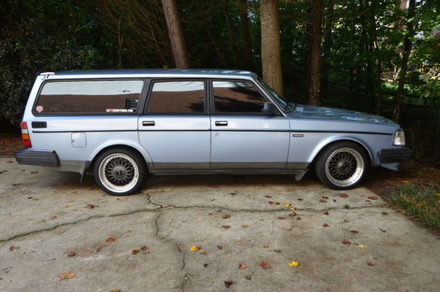 Volvo 245DL Wagon | Stanced with LS Swap for sale in ...
