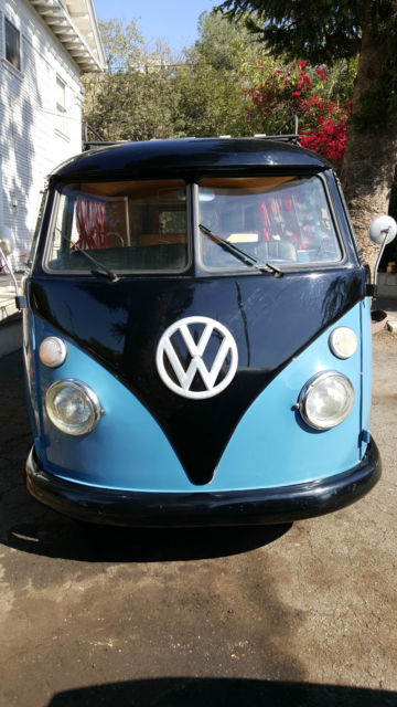 vw 1963 desirable retro camper bus. Black Bedroom Furniture Sets. Home Design Ideas