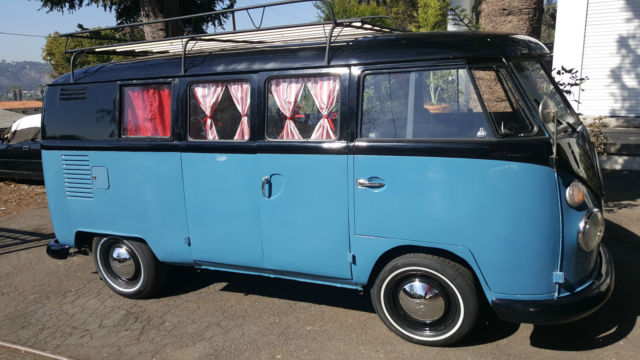 Vw 1963 Desirable Retro Camper Bus For Sale Photos