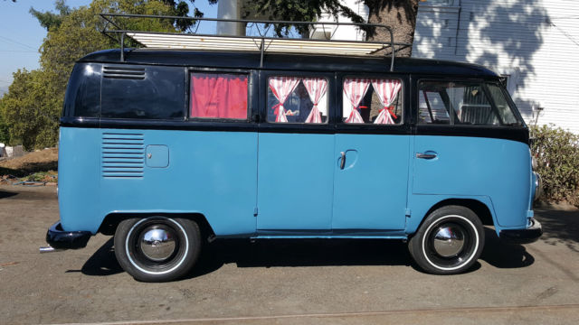 VW 1963 desirable RETRO CAMPER BUS for sale: photos ...
