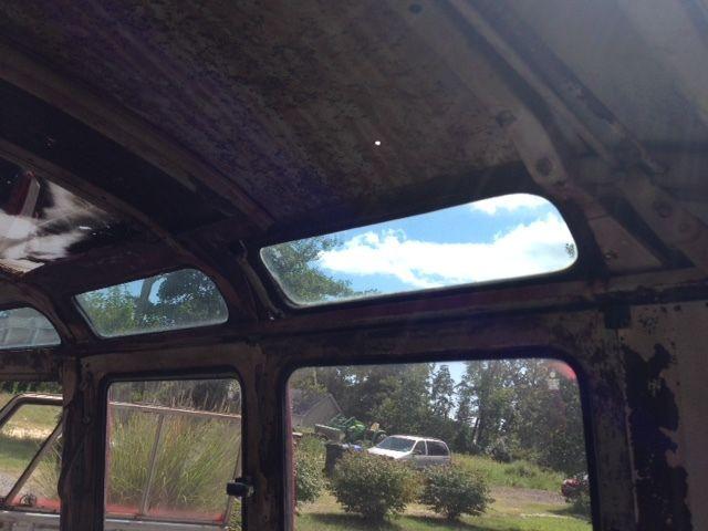 Vw Split Window Samba Shorty Bus Van Hot Custom Rat Rod