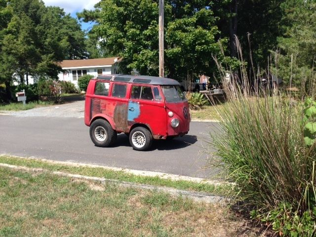 vw split window samba shorty bus van hot custom rat rod chopped for sale in tuckerton new. Black Bedroom Furniture Sets. Home Design Ideas