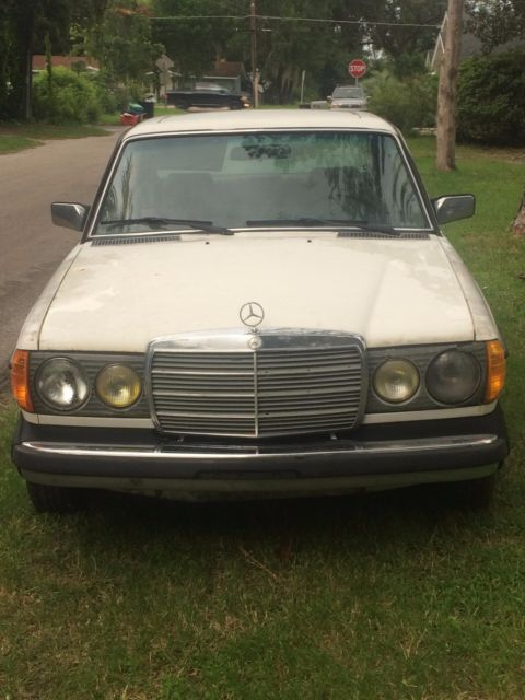 W123 mercedes benz 300 turbo diesel 1981 for Mercedes benz 300 diesel