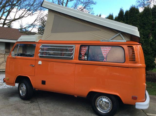 Westfalia Pop-Top Camper Bus Van Type-2 Bay Window New 2 0L