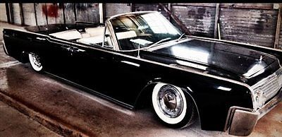 Wow Classic 1963 Lincoln Convertible Suicide Doors Very Nice